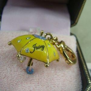 JUICY COUTURE UMBRELLA BRACELET CHARM ORIG BOX